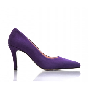 SAMPLE SALE - Bijou Joy - Suede Court Shoe