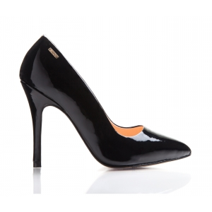 Bijou Margot - Leather Patent Court Shoe
