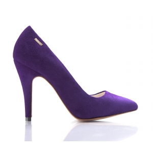 Bijou Margot - Suede Court Shoe