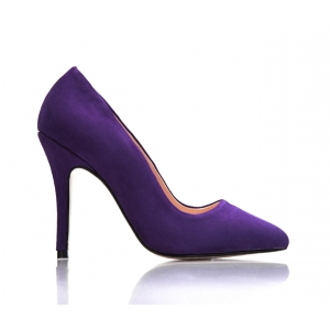 SAMPLE SALE - Bijou Margot - Suede Court Shoe
